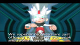 Ape Escape 2 PlayStation 2 Specter suggests his plan to Natsume and Hikaru.