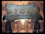 Rygar: The Legendary Adventure PlayStation 2 Title Screen
