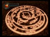 King's Field: The Ancient City PlayStation 2 Magic circle used for teleportation to gate stones.
