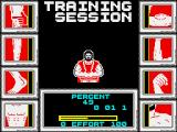 Geoff Capes Strongman ZX Spectrum Assigning the accrued strength
