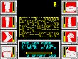 Geoff Capes Strongman ZX Spectrum The log chop - press the button to chop at a set point