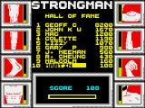 Geoff Capes Strongman ZX Spectrum High scores