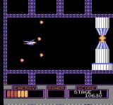 Mobile Suit Z Gundam: Hot Scramble NES The boss installation fires at you when shot