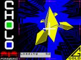 Cholo ZX Spectrum Loading screen