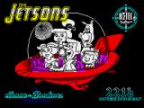 The Jetsons: The Computer Game ZX Spectrum Loading screen