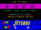 The Jetsons: The Computer Game ZX Spectrum The characters