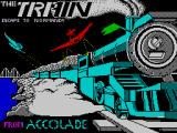 The Train: Escape to Normandy ZX Spectrum Loading screen