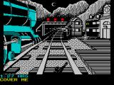The Train: Escape to Normandy ZX Spectrum Shoot at the yellow spot