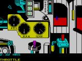 The Train: Escape to Normandy ZX Spectrum The array of controls