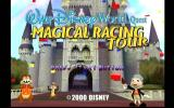 Walt Disney World Quest: Magical Racing Tour Dreamcast Title Screen