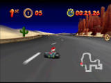 Mickey's Speedway USA  Nintendo 64 Vegas also has you driving out in the desert