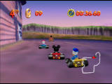 Mickey's Speedway USA  Nintendo 64 The opponents are tougher on Intermediate