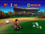 Mickey's Speedway USA  Nintendo 64 You can powerslide with R and B simultaneously