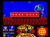 Captain Planet ZX Spectrum The level 1 boss finishes me off