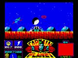 Captain Planet ZX Spectrum Hit the satellite