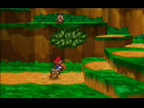 Paper Mario Nintendo 64 You can see approaching enemies, and dodge them if you like