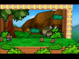 Paper Mario Nintendo 64 Stomp a Paragoomba and it loses its wings!