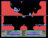 Gravity Power Amiga New in this version: a smart cannon that tracks you