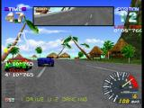 Ridge Racer Revolution PlayStation First-person perspective