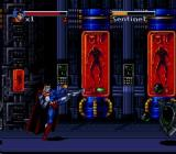 The Death and Return of Superman SNES Cyborg Superman boss fight