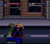 The Death and Return of Superman SNES Superman vs Doomsday