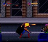 The Death and Return of Superman SNES Heat vision