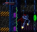 The Death and Return of Superman SNES The Man of Steel dodges traps