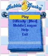 Bubble Ducky BREW Main Menu