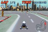 Crazy Frog Racer Game Boy Advance The game is shown in a mode-7 style