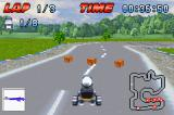 Crazy Frog Racer Game Boy Advance The gun is useless because there's no-one in front of you!