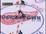 NHL FaceOff '99 PlayStation The face-off