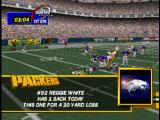 NFL GameDay 99 PlayStation Reggie White sacks John Elway.