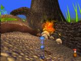 Disney•Pixar A Bug's Life PlayStation Flik throws berries at a wasp.