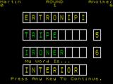 Countdown ZX Spectrum Interior comes from the inside