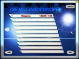Das Milliarden-Quiz Windows High Score Screen