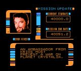 Star Trek: The Next Generation NES Mr. Riker, what's our mission again?