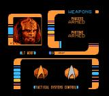 Star Trek: The Next Generation NES Mr. Worf, let's light this sector up!