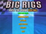 Big Rigs: Over the Road Racing Windows Main menu