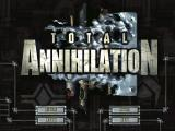 Total Annihilation Windows Title Screen / Main Menu
