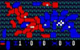 Lords of Conquest Atari ST Assigning units among your territories
