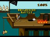 Wild Woody SEGA CD Level 1: Broadside Battle