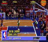 NBA Jam SNES The game heats up...