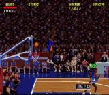 NBA Jam SNES Misses the ball and it goes in