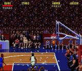 NBA Jam SNES Smash through the glass on the backboard!