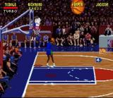 NBA Jam SNES Getting ready for a pass