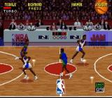 NBA Jam SNES Back to centre court