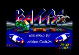 Batty Amstrad CPC Title screen