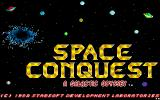 Space Conquest: A Galactic Odyssey DOS Title Screen