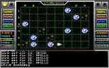 Space Conquest: A Galactic Odyssey DOS A planetary map once inside a solar system