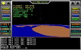 Space Conquest: A Galactic Odyssey DOS Planetary Scan